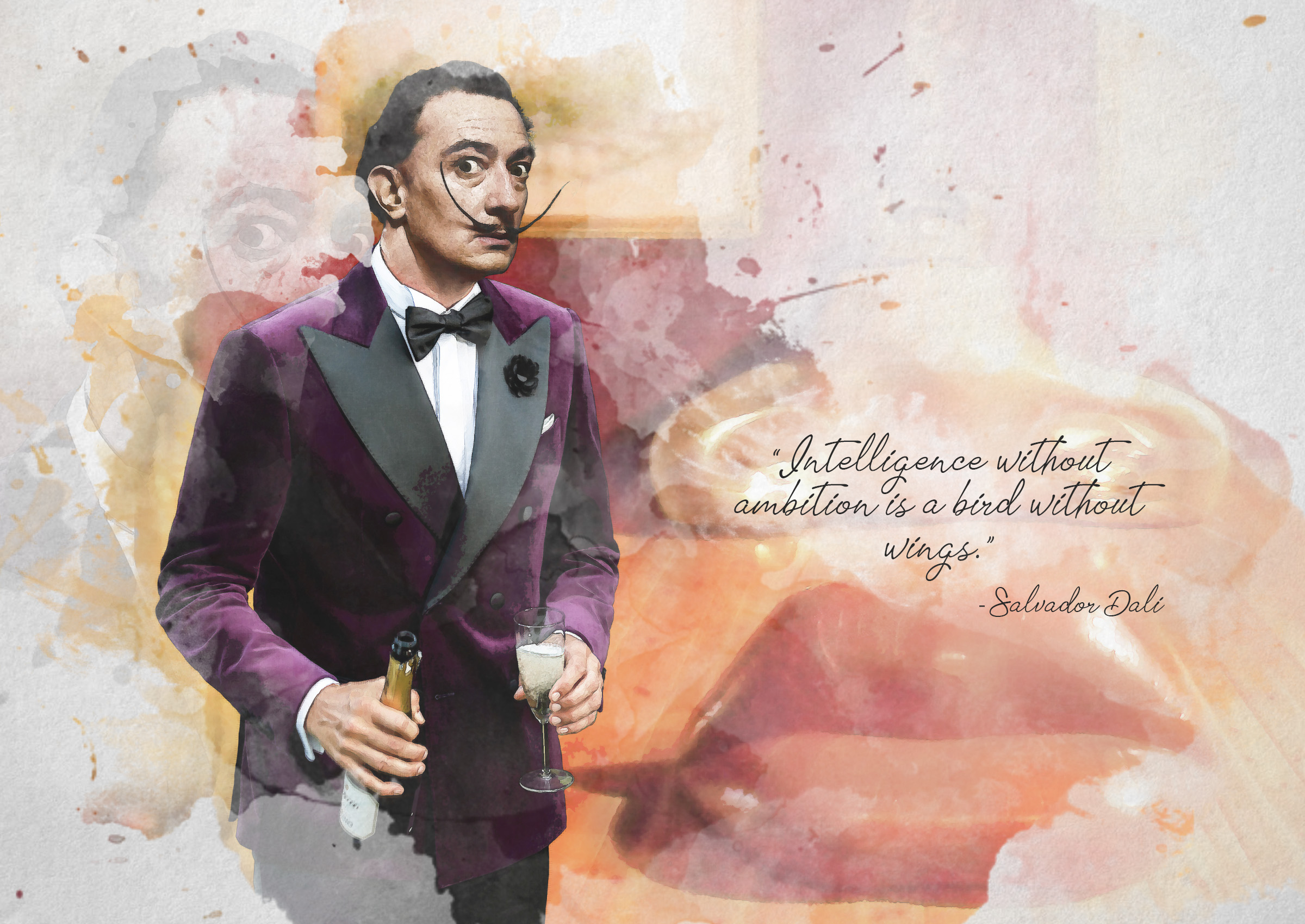 Costum ceremonie - Salvador Dali